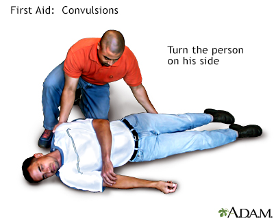 First aid convulsions, part 2